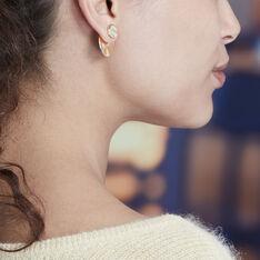 Bijoux D'Oreilles Plaque Or Kacia Froisse - Boucles d'oreilles Ear cuffs Femme | Marc Orian