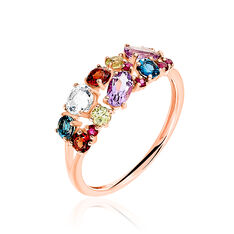 Bague Leonice Or Rose