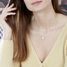 Collier Or Jaune Miora Triangle - Colliers Femme | Marc Orian