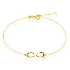 Bracelet Or Jaune Infini