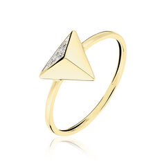 Bague Or Jaune Tao Diamants