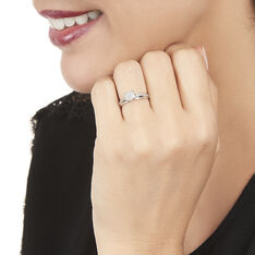 Bague Kate Or Blanc Et Diamant