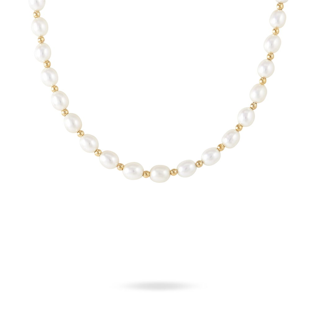 Collier Or Jaune Perle De Culture - Parure de mariage Femme   Marc Orian
