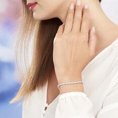 Bracelet Paola Argent Rhodie