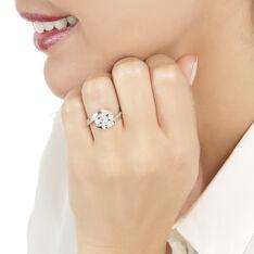 Bague Barbara Or Blanc Et Diamant
