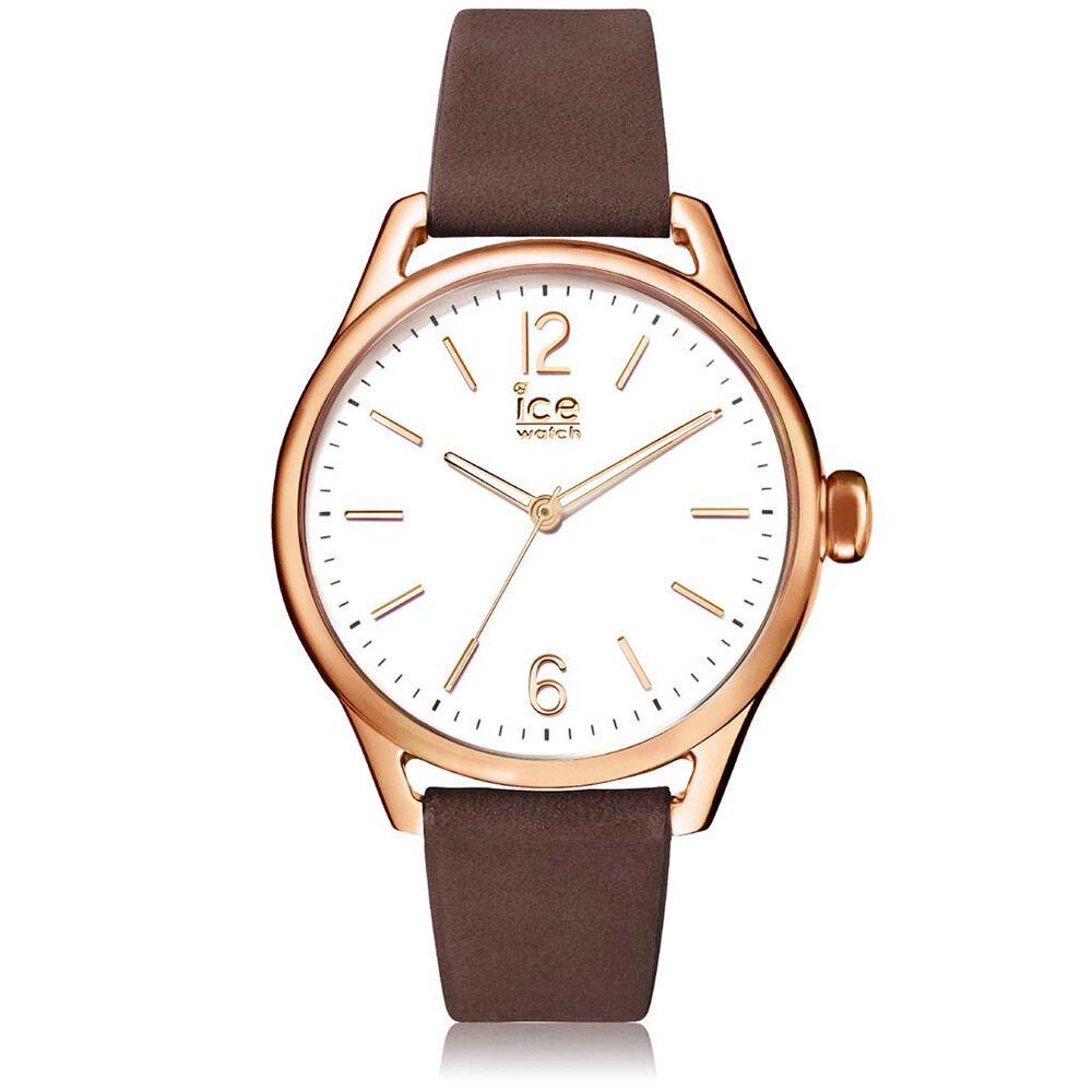 montre ice watch femme bracelet cuir