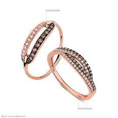Bague Nadia Or Rose Diamants