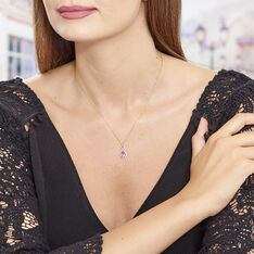 Collier Or Amethyste - Colliers Femme | Marc Orian