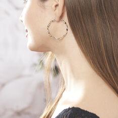 Creoles Plaque Or - Boucles d'oreilles Créoles Femme | Marc Orian