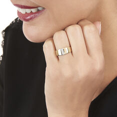 Bague Soha Or Jaune Et Diamants