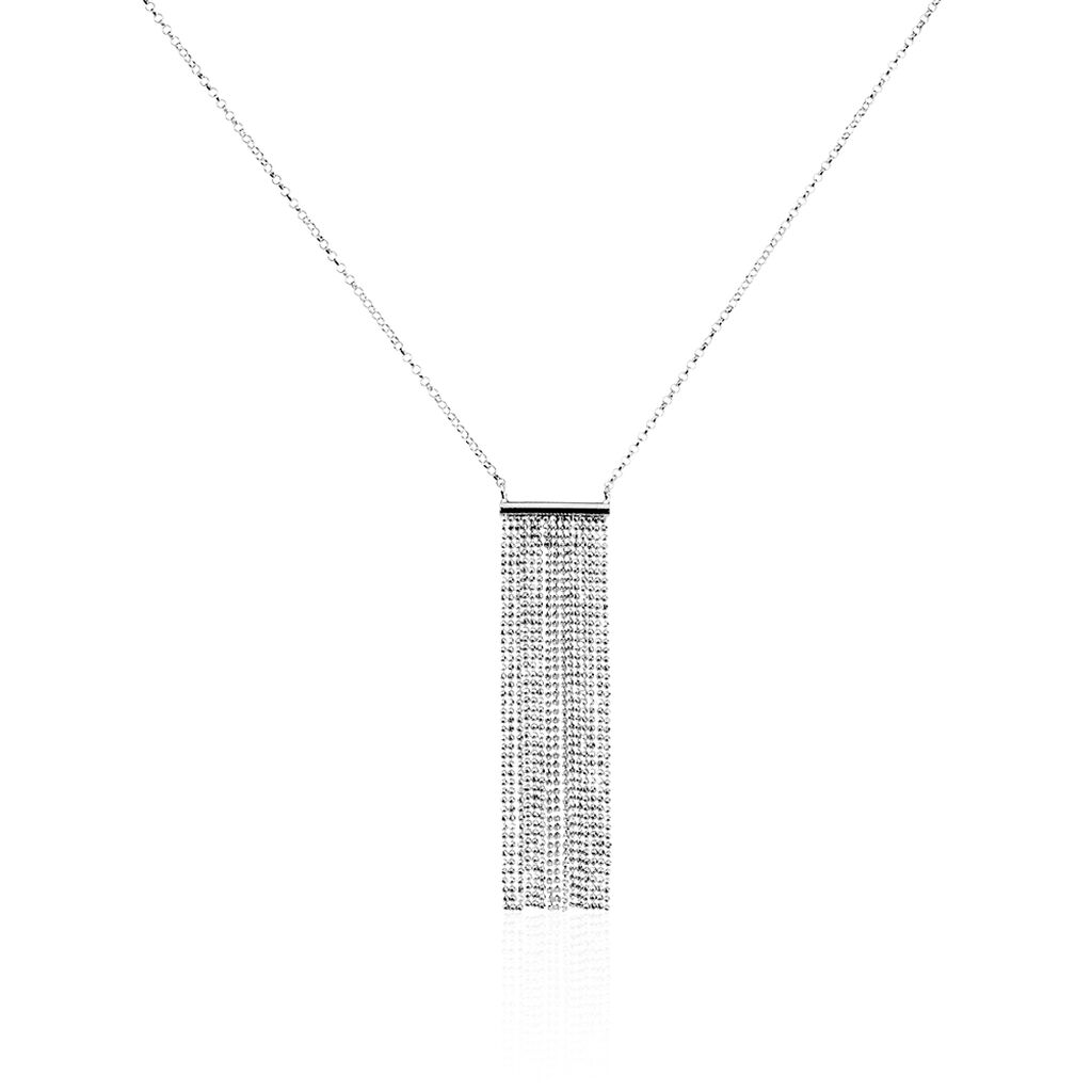 Collier Argent Manhattan