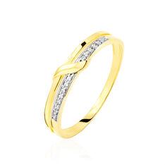 Bague Lucia Or Jaune Et Diamant