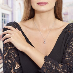 Collier Argent Perle Oxydes De Zirconium - Colliers Femme | Marc Orian