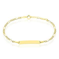 Bracelet Identite Bebe Or Jaune Erell