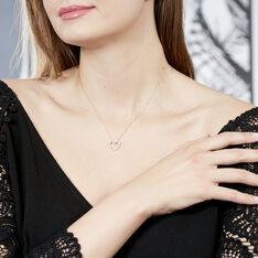 Collier Or Rose Elandina Coeur Diamant - Parure de mariage Femme   Marc Orian