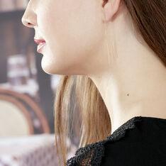 Boucles D'Oreilles Graphic Chic Or Jaune - Boucles d'oreilles Pendantes Femme | Marc Orian