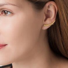 Bijoux D'Oreilles Elorie Or Jaune - Boucles d'oreilles Ear cuffs Femme | Marc Orian