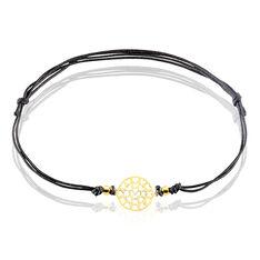 Bracelet Leana Or Jaune Pastille