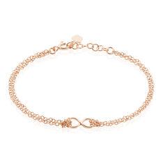 Bracelet Argent Dore Rose Castilla - Bracelets chaînes Femme   Marc Orian