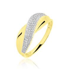 Bague Fany Or Jaune Diamants