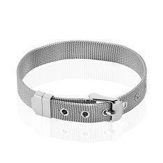 Bracelet Acier Maille Milanaise