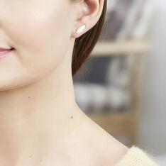 Bijoux D'Oreilles Hanae Plaque Or - Boucles d'oreilles Ear cuffs Femme | Marc Orian