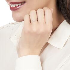Bague Alicia Or Blanc Et Diamants