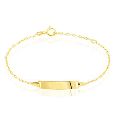 Bracelet Identite Bebe Or Jaune Estee