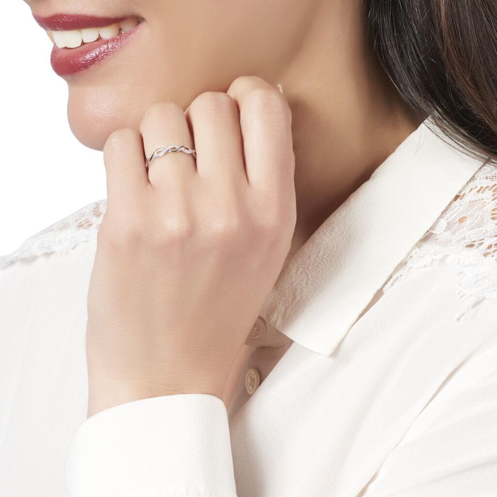 Bague Or Blanc Et Diamants Anays