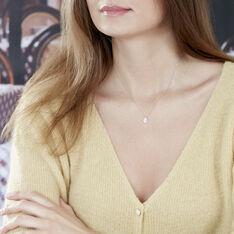 Collier Or Blanc Hildana