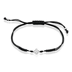 Bracelet Argent Rhodie Adria Oxyde