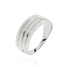Bague Or Blanc Ines Diamants