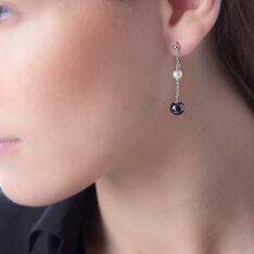 Boucles D'Oreilles Argent Perles Culture