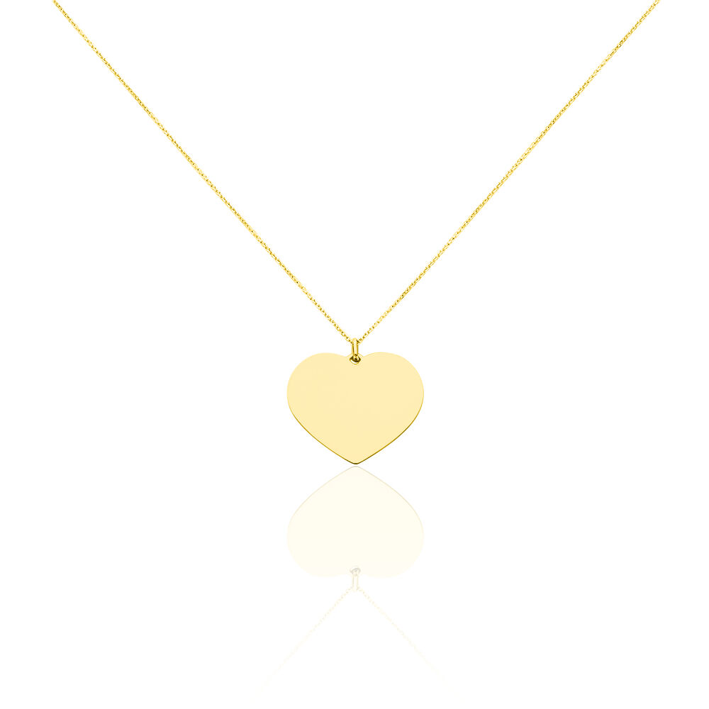 collier en or coeur