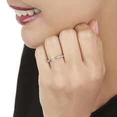 Bague Olga Or Blanc Diamants