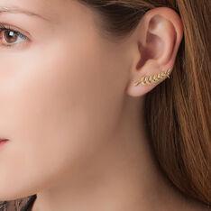 Bijoux D'Oreilles Eponine Or Jaune - Boucles d'oreilles Ear cuffs Femme | Marc Orian