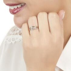 Bague Bodil Or Bicolore Et Diamant