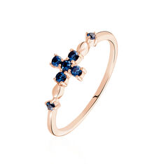 Bague Argent Rose Chessy Oxyde