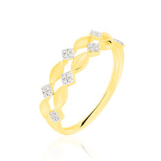 Bague Amelie Or Jaune Diamants