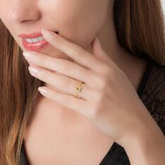 Bague Emma Or Jaune Et Diamant