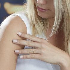 Bague Or Jaune Auregane Cercle Diamant