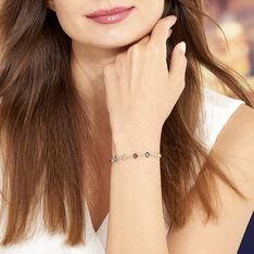 Bracelet Argent Rosalie Ambres