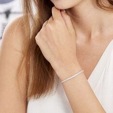 Bracelet Argent Maille Heringbone