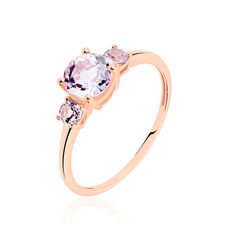 Bague Or Rose Timora