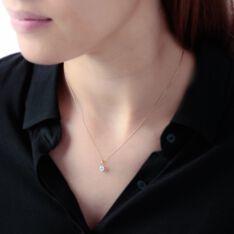 Pendentif Or Jaune Victoria Et Diamant