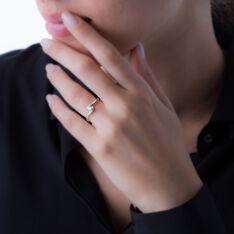 Bague Or Blanc Coralie Diamant