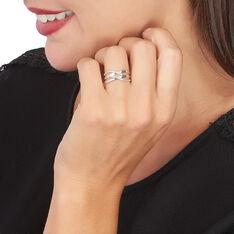 Bague Or Blanc Joassine Vagues Diamants
