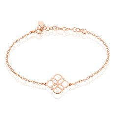 Bracelet Argent Rose Letizia - Bracelets chaînes Femme | Marc Orian
