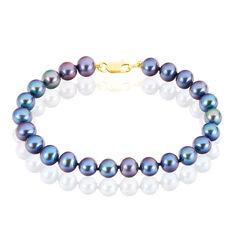 Bracelet Or Perle De De Culture - Bracelets chaînes Femme | Marc Orian