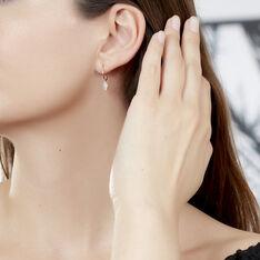Creoles Or Jaune Rosette Pastilles - Boucles d'oreilles Créoles Femme | Marc Orian